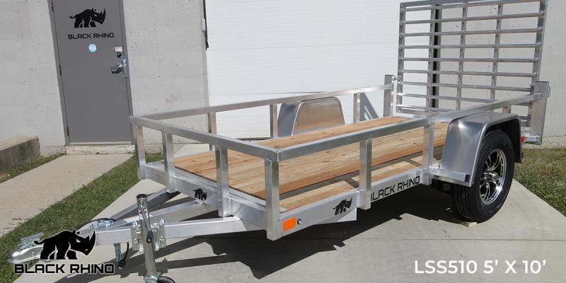 2022 Black Rhino LSS610 6 x 10 Utility Trailer