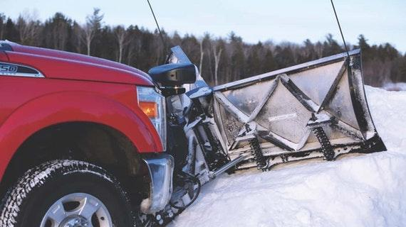 FisherHD2 Straight Blade Snow Plow