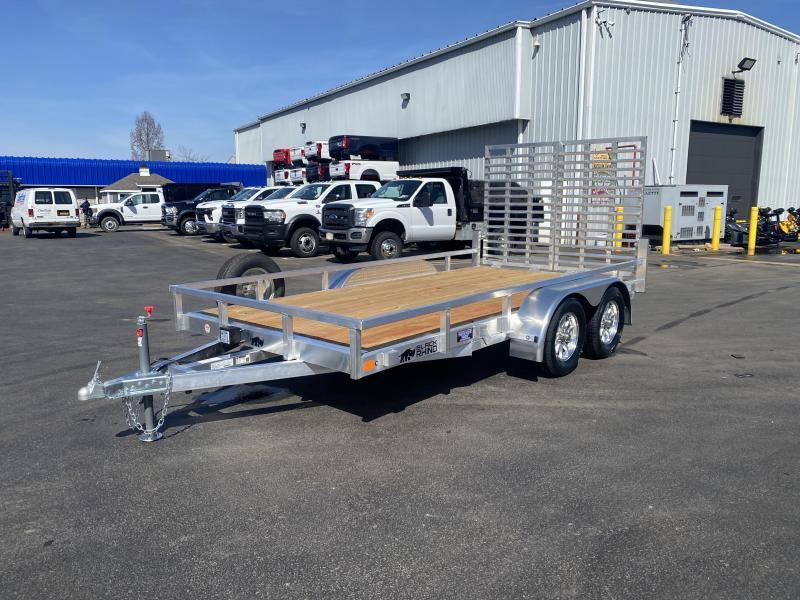 2021 Black Rhino LST714B 7 x 14 Tandem Axle W/ Aluminum WheelsLandscape / Utility Trailer