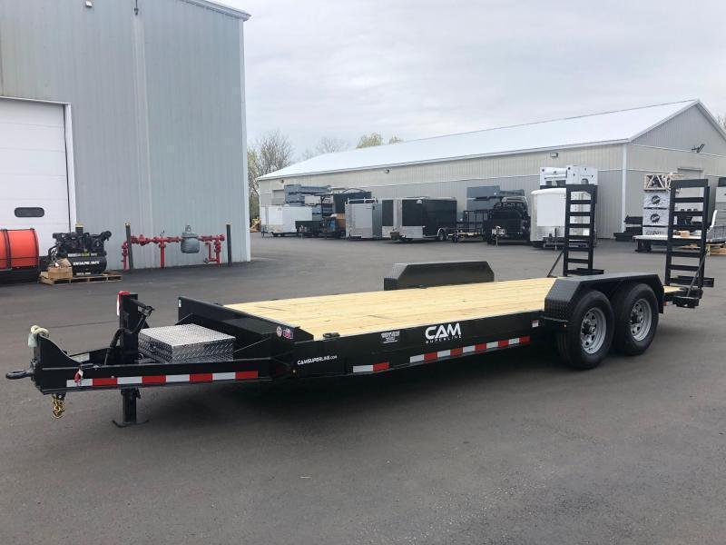 CAM 2021  8.5' X 18'  6-TON EQUIPMENT HAULER - ANGLE FRAME