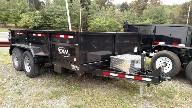 CAM SUPERLINE 2021 6' x 12' LOW PROFILE DUMP TRAILER