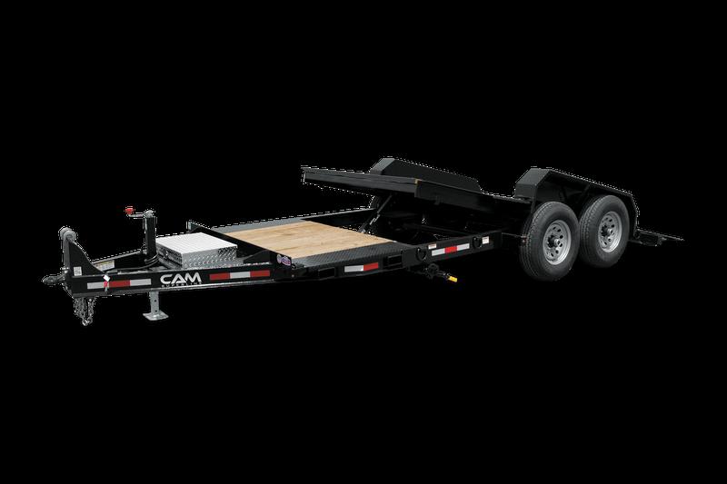 2021 Cam Superline P7CAM164STTXW 8.5X16 + 4 Equipment Trailer