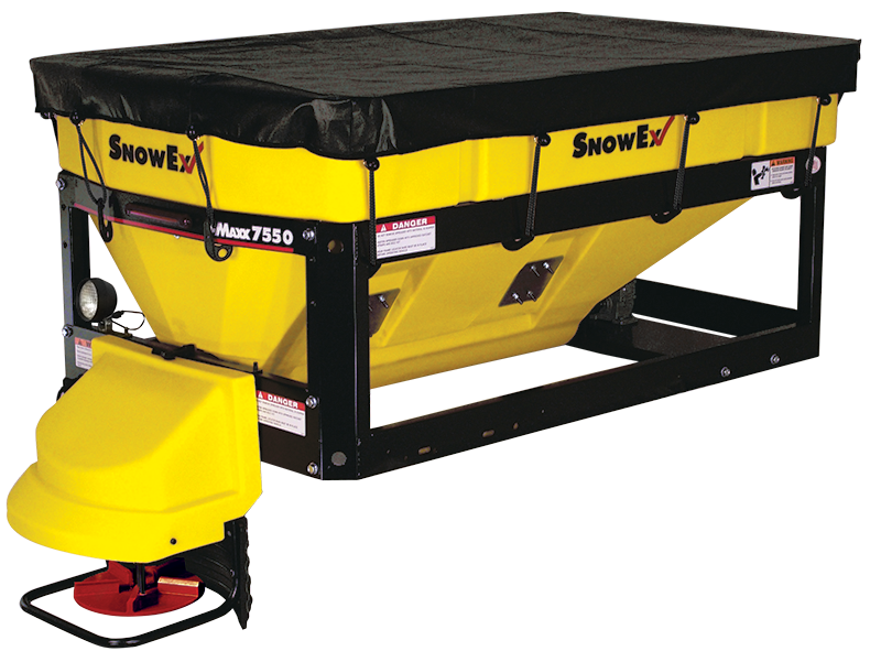 SnowEx V-MAXX SP-7550 Salt Spreader