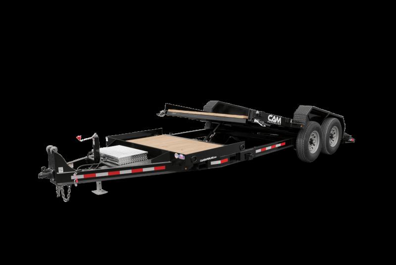2021 Cam Superline P6CAM155STT Equipment Trailer