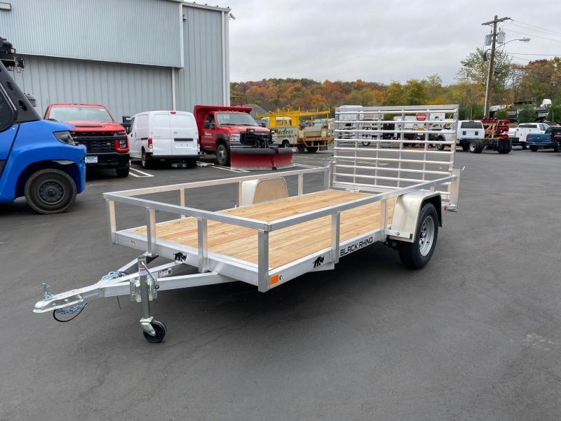 2021 Black Rhino LSS612 6 x 12  WITH ALUMINUM WHEELS Landscape /Utility Trailer