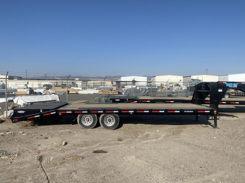 2020 Top Hat Flatbed Trailer GN 8.5x30 Tandem Dual