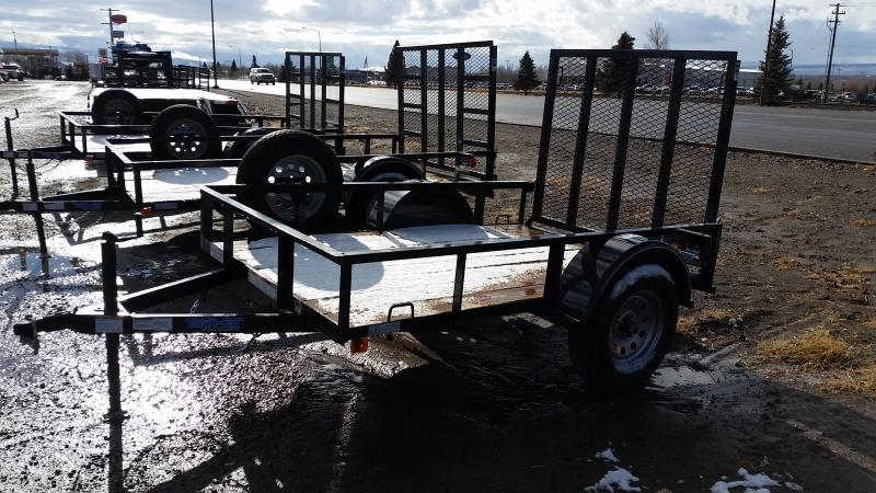 2017 Top Hat 8' Utility Trailer