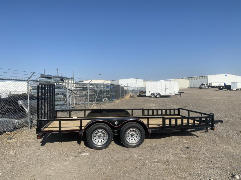 2020 Diamond T Trailers T 83'x16' SIDE AND REAR RAMP Utility Trailer