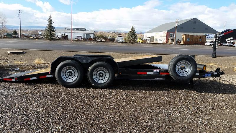 2018 TopHat 20 Tilt-Deck Equipment Trailer