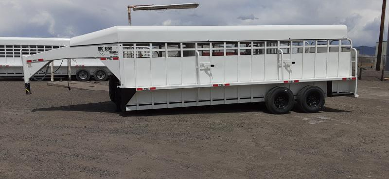 2021 Big Bend Goose Neck Horse Trailer