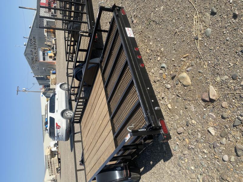 2020 Diamond T Trailers t 6.5 x v14 Rear Ramp Utility Trailer