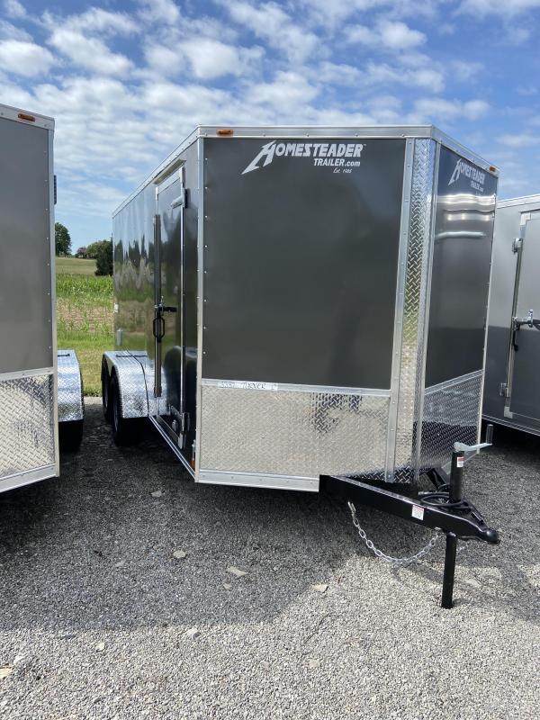 2021 Homesteader Trailers 714PT Enclosed Cargo Trailer