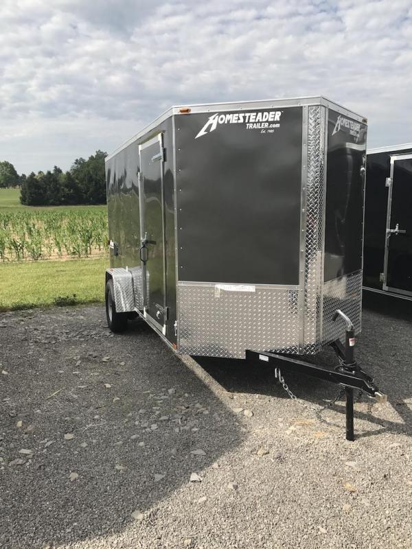 Homesteader 6 x 12 Single Axle Enclosed Cargo Trailer