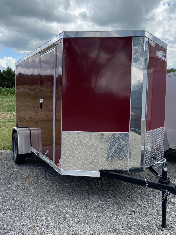 Cross 6 x 12 Single Axle Enclosed Cargo Trailer
