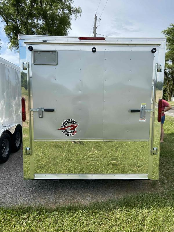 2020 Homesteader Trailers 714ET Motorcycle Trailer