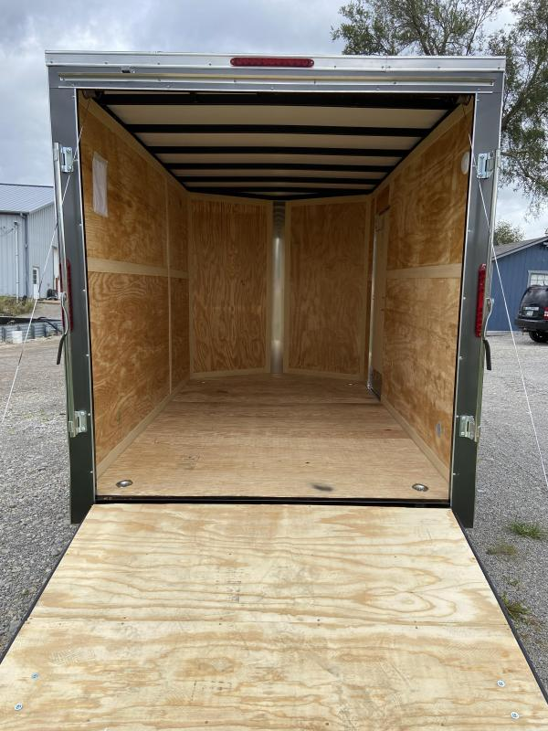 Homesteader 7 x 12 Tandem Axle Enclosed Cargo Trailer w/ OHV Package