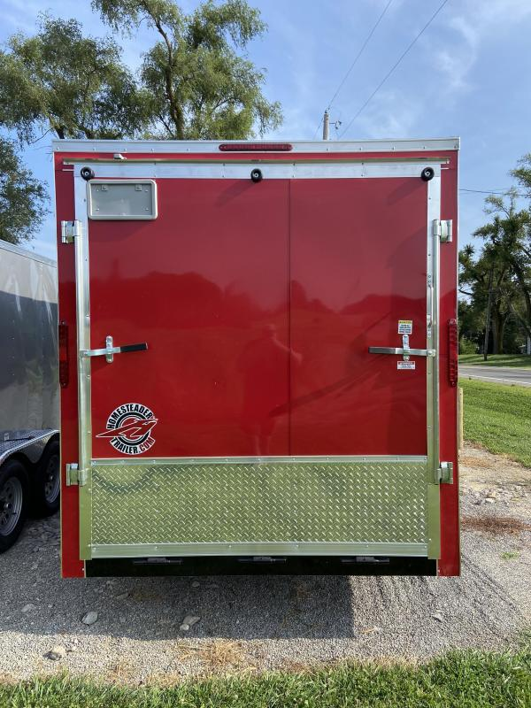 Homesteader 7 x 16 Tandem Axle Enclosed Cargo Trailer w/ OHV Package