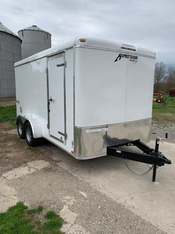 2021 Homesteader Trailers 714CT Enclosed Cargo Trailer