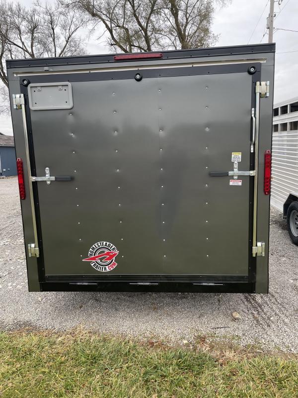2020 Homesteader Inc. 7X14 Intrepid Enclosed Cargo Trailer