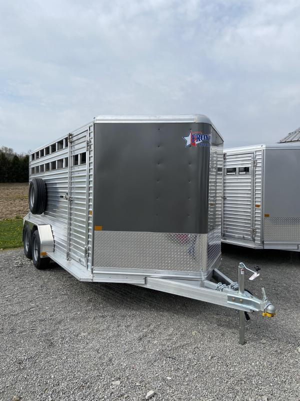 2022 Frontier Livestock 16.6' Livestock Trailer