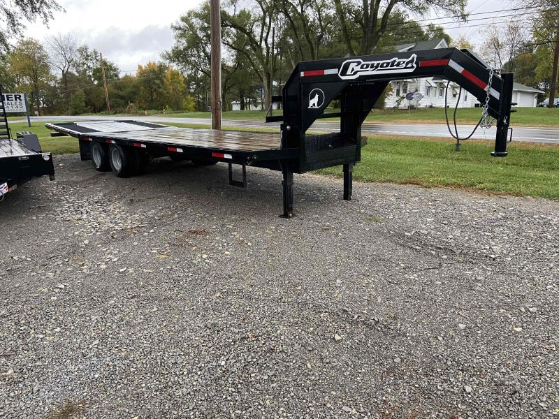 2019 Coyote GN29HYD Equipment Trailer
