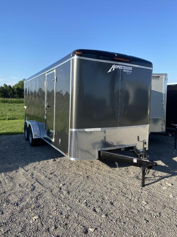 2021 Homesteader Trailers 718CT Enclosed Cargo Trailer