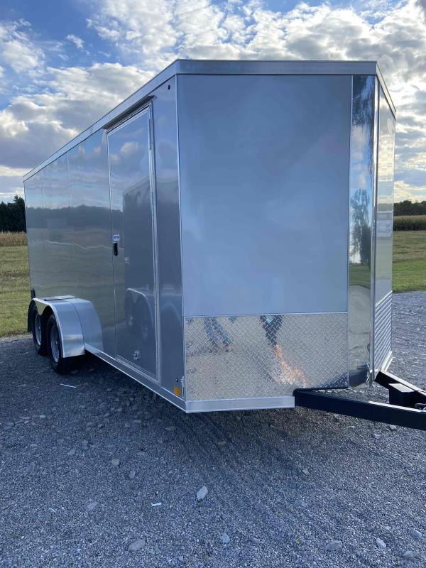 Cross 7 x 16 Tandem Axle Enclosed Cargo Trailer w/ Extra Height