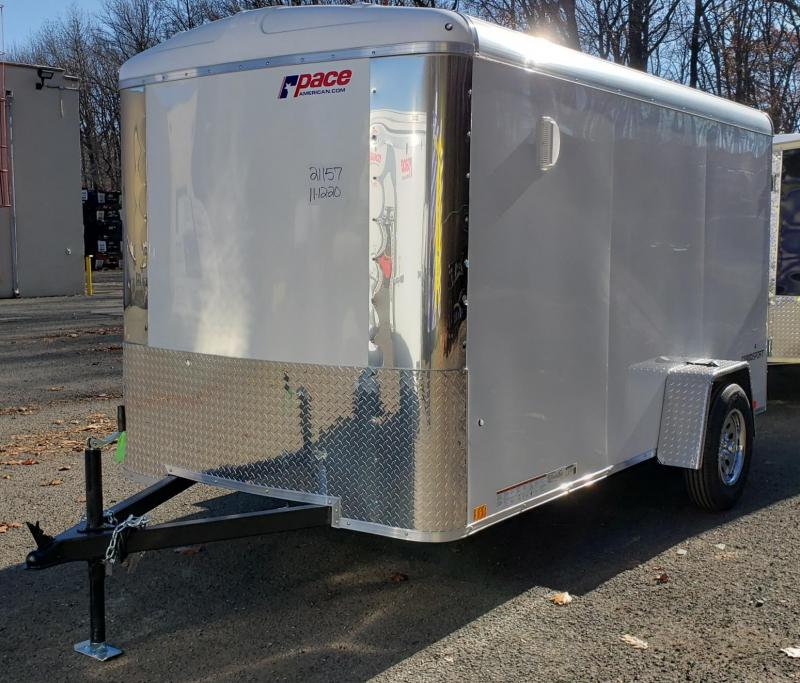 2020 Pace American 6 X 12 Cargo Sport Enclosed Trailer