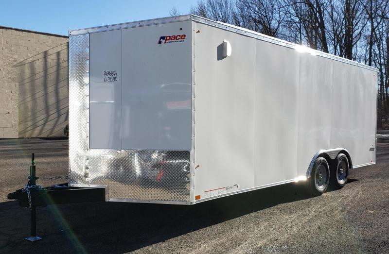 2022 Pace American 8.5 X 20 Journey SE Cargo Flat Top Trailer