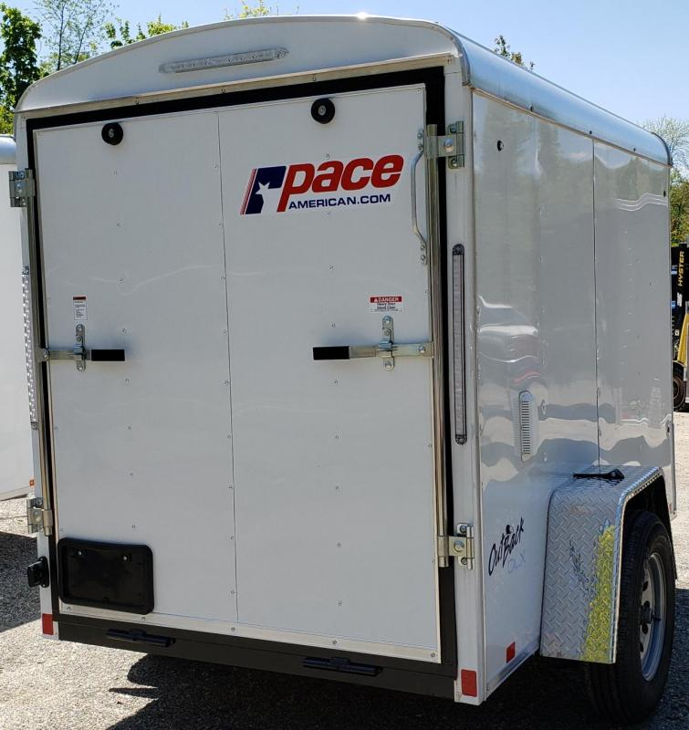 2020 Pace American 5 X 8 Outback Round Top Cargo DLX