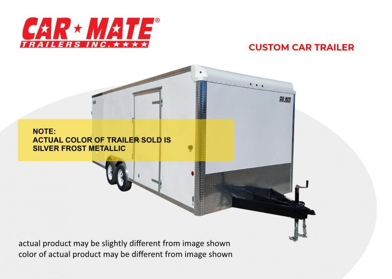 2022 Car Mate 8 X 16 Custom Car Trailer