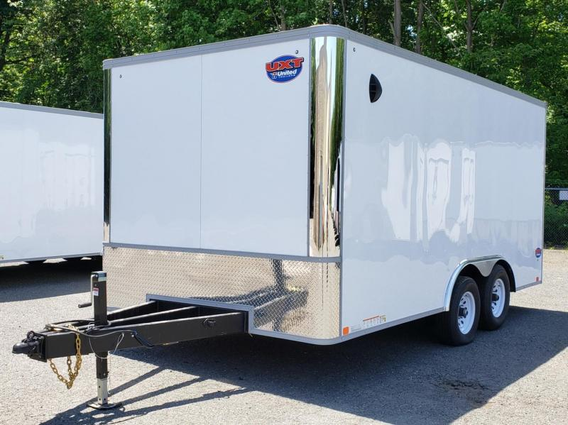 2021 United Trailers 8.5 X 16 Car Hauler XLT