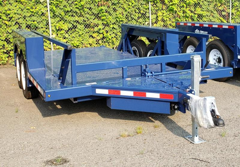 2021 Air-tow 14 X 10 Tandem Axle Flatbed Trailer