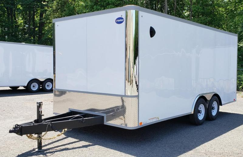 2021 United Trailers 8.5 X 18 Car Hauler XLT