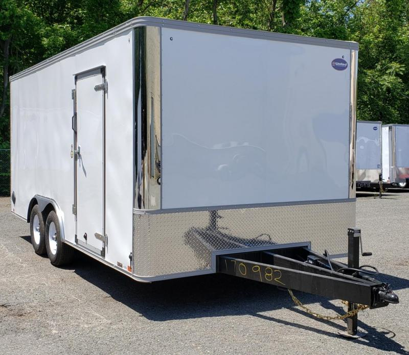 2021 United Trailers 8.5 X 18 Car Hauler XLT