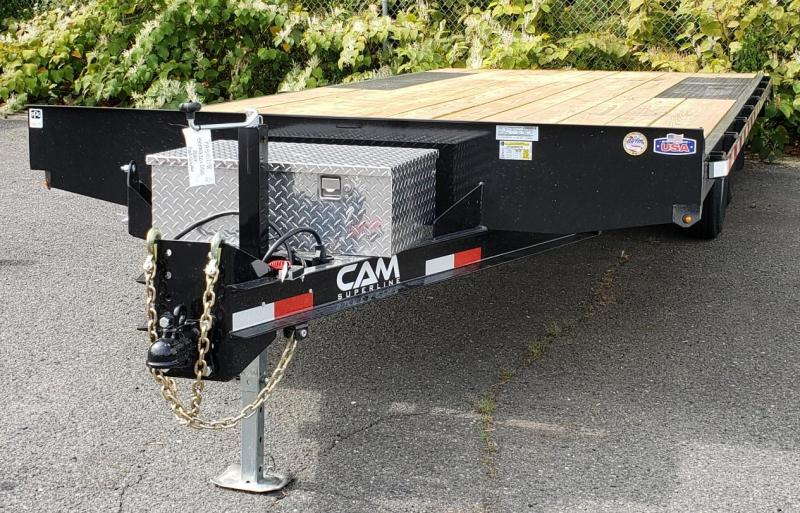 2021 Cam Superline 8 X 20 General Duty Deckover Trailer