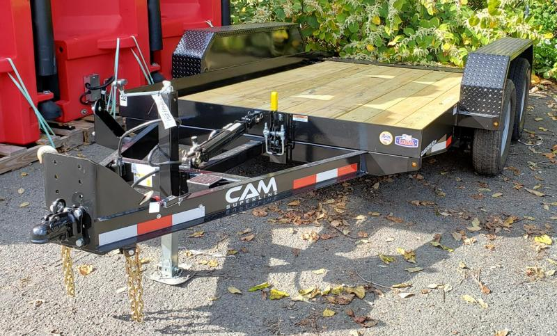 2021 Cam Superline 6 X 12 Tandem Axle Tilt Trailer