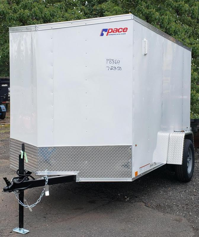 2021 Pace American 6 X 10 Outback Deluxe Light Duty Cargo Trailer