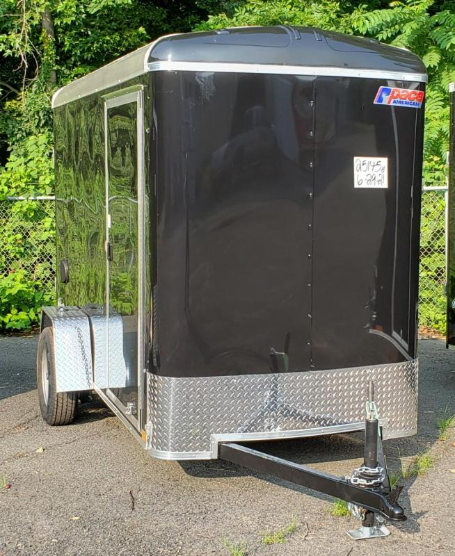 2022 Pace American 5 X 10 Outback Deluxe Light Duty Cargo Trailer