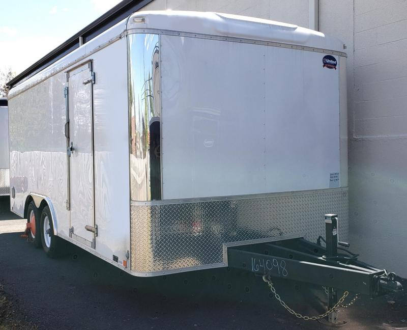 2019 United Trailers 8.5 X 18 Car Hauler ULT