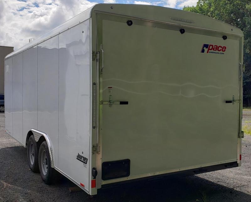 2021 Pace American 8.5 X 20 Journey SE Round Top Auto Trailer