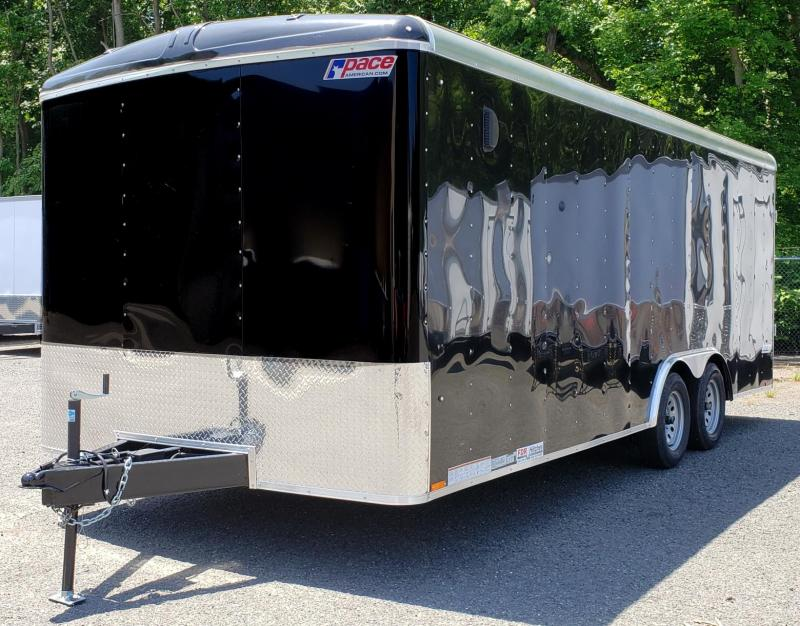 Pace American 8.5 X 20 Journey Round Top Auto Trailer