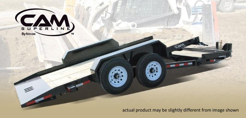 2021 Cam Superline 8.5 X 15+4 8 Ton Tilt Trailer Split Deck XW