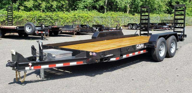 2019 Cam Superline 8.5 X 18 Angle Frame Equipment Hauler