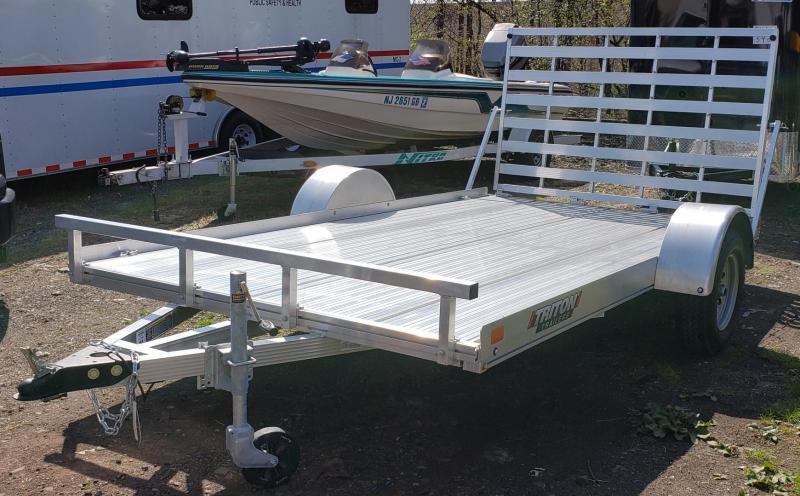 2021 Triton 7 X 12 FIT Series Aluminum Utility Trailer