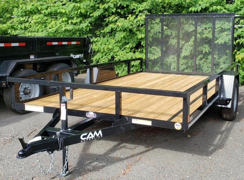 2020 Cam Superline 7 X 12 3K Utility Trailer