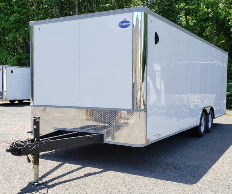 2021 United Trailers 8.5 X 24 Car Hauler XLT