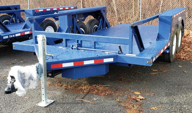 2021 Air-tow 8.5 X 16 Tandem Axle Flatbed Trailer