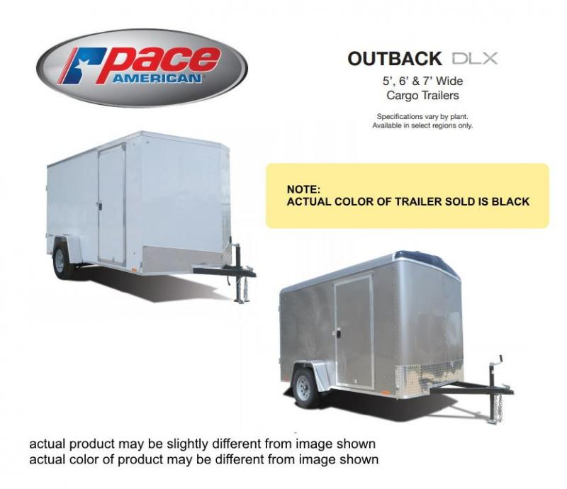 2021 Pace American 5 X 10 Outback Round Top Cargo DLX