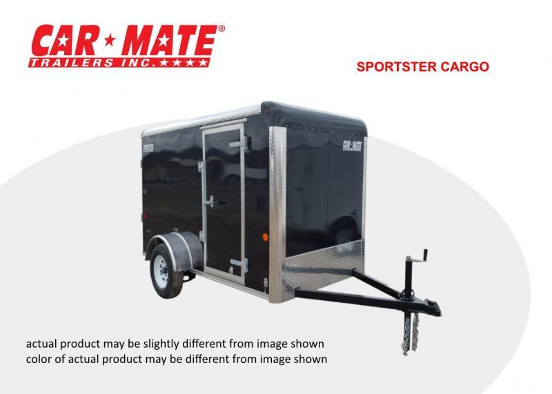 2020 Car Mate 6 X 12 Sportster Cargo